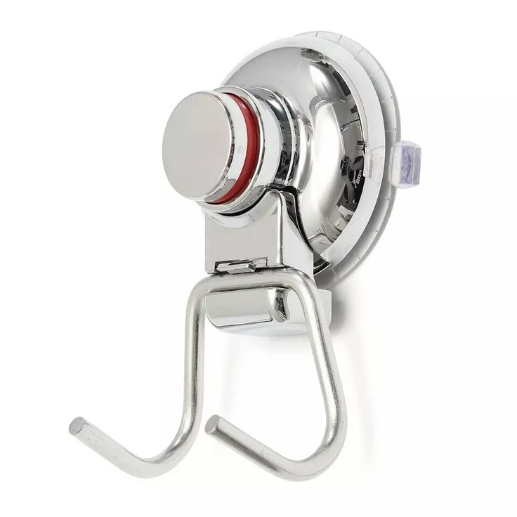 Bathroom Kitchen Stainless Steel Double Hook Strong Vacuum Suction Cup Hanger Silver/xj #Affiliate