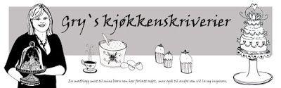Gry´s Kjøkkenskriverier