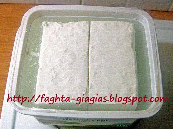 Άλμη για να διατηρήσουμε τη φέτα ή το λευκό (αγελαδινό) τυρί - από «Τα φαγητά της γιαγιάς»