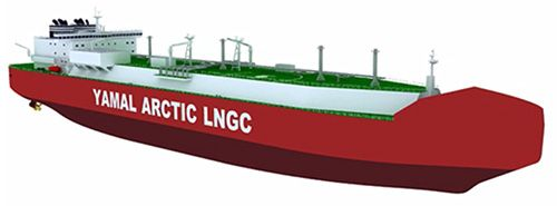 MOL Confirms Order for Icebreaking LNG Carriers