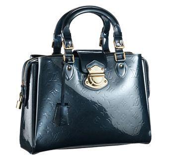 #M93756 Louis Vuitton 09 Monogram Vernis Melrose Avenue/black