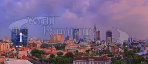 Saigon Skyline by World Panorama Stock