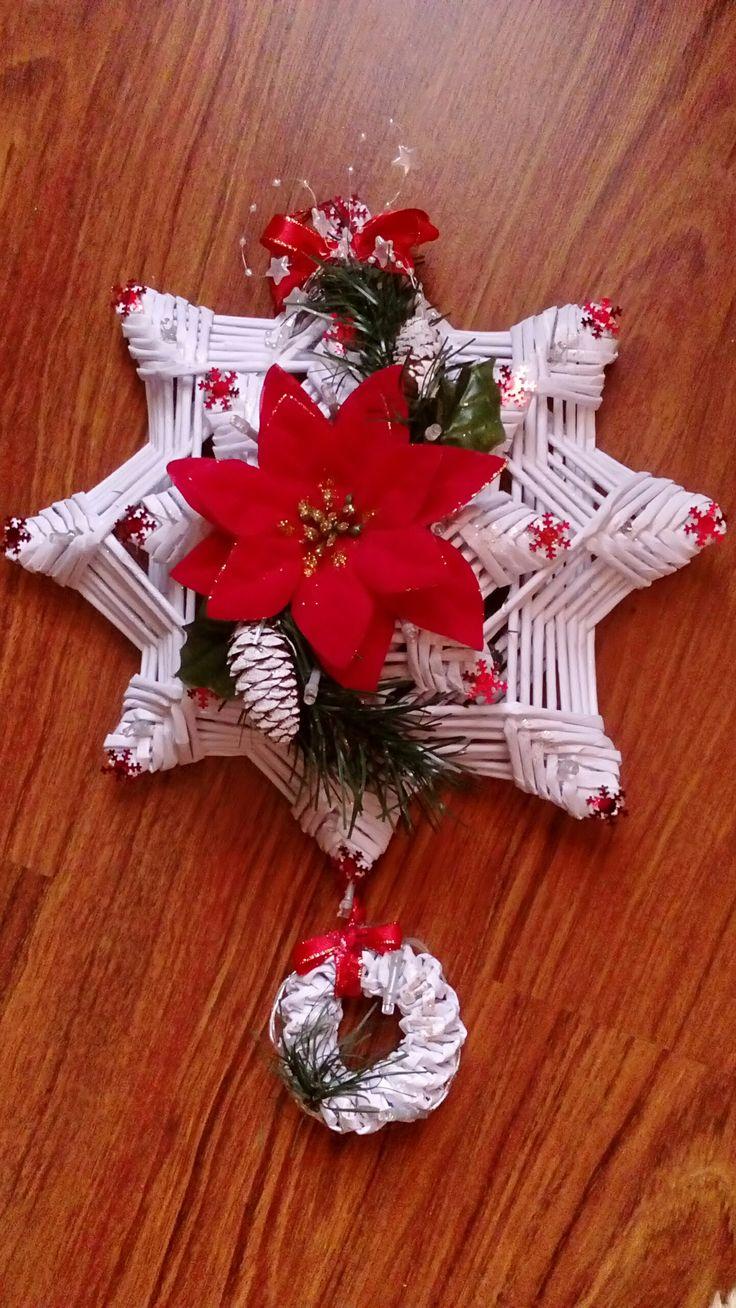 gwiazda z papierowej wikliny autorstwa ANNA BOROWCZYK