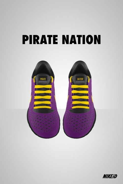 ecu nike shoes! It even says pirate nation!