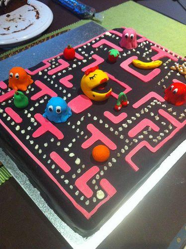 """Ms Pac-Man"" Cake «CaKeCaKeCaKe»"
