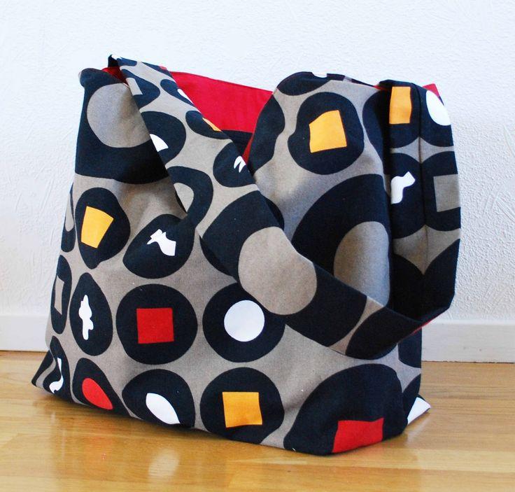 Minns ni det gula väskan jag skrev om förut? Det visade sig att den har blivit flitigt använd och dess storlek passar mitt liv och livsstil ...