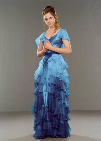 Como seria o verdadeiro vestido da Hermione no Baile de Inverno