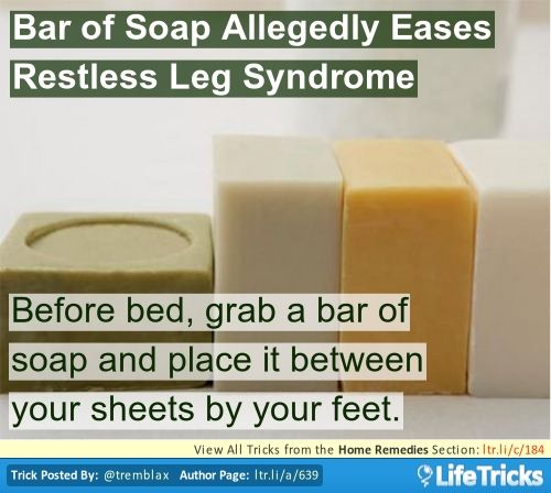 how to get rid of restless leg syndrome