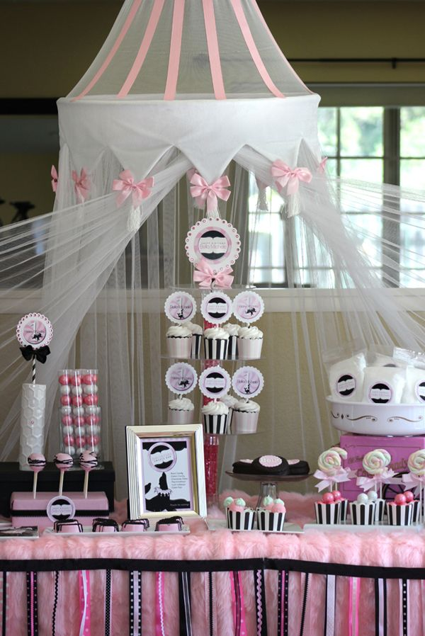 Girly-Circus-sweets-bar-cupcakes