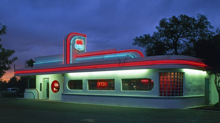 Route 66 California   HD Diner On Route 66 In California Wallpaper