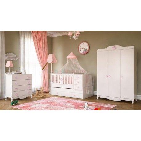 Babi Baby Kraliçe Maxi Bebek Odası Takımı