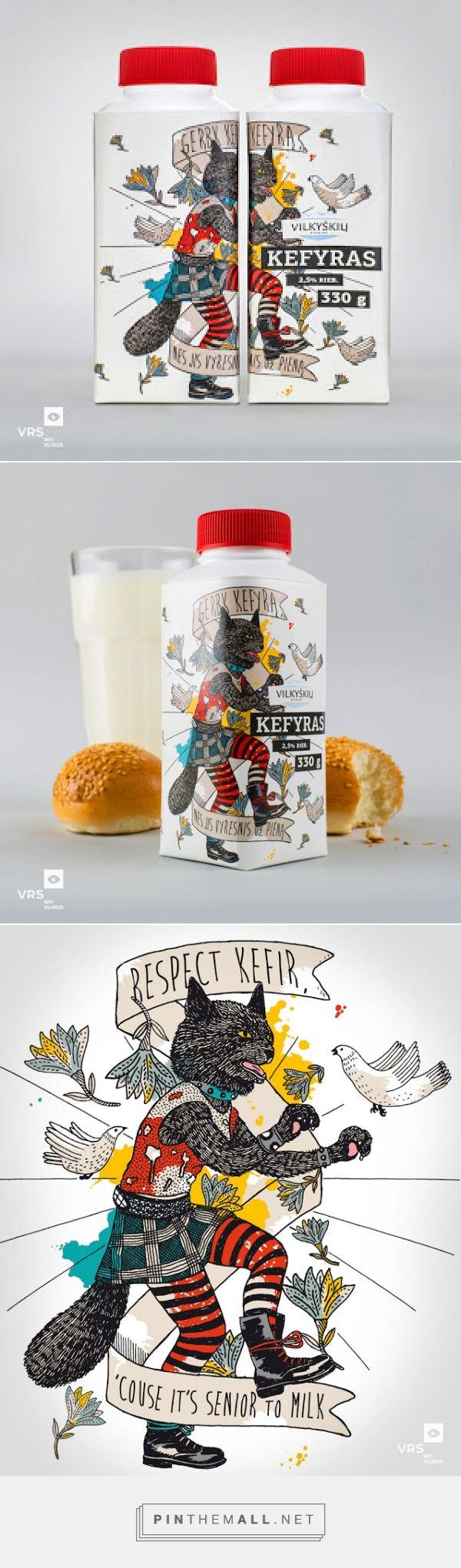 Vilkyškių kefir on Packaging of the World by VRS WPI Vilnius curated by Packaging Diva PD. For the packaging smile file : )