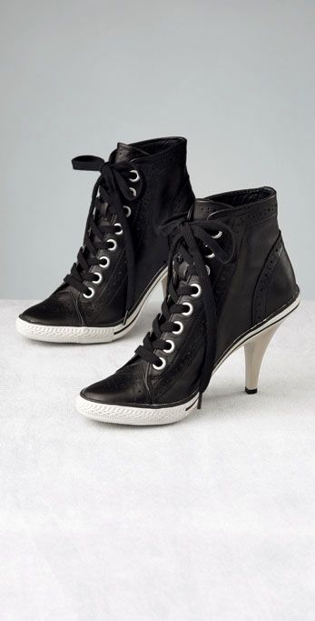 Fashion and Art Trend: Converse High Heels Sneakers