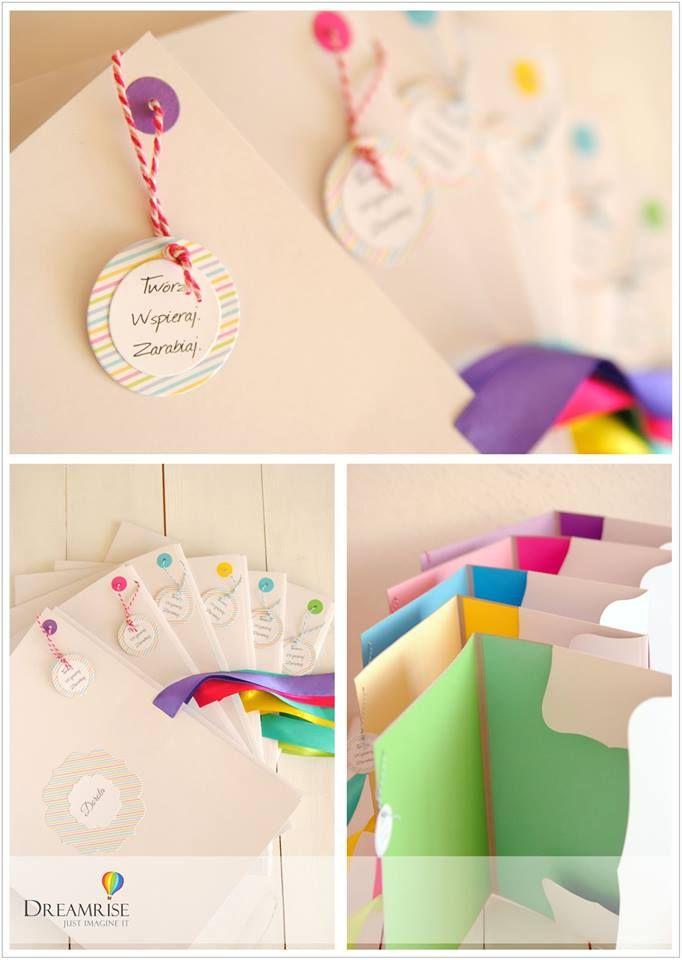 Hand made folders