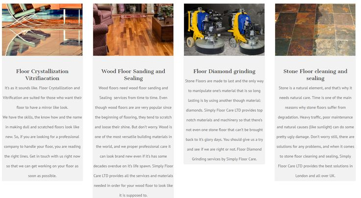 Some of our services illustrated right here: http://simplyfloorcare.com/floor-restoration-services-london/?utm_content=bufferb182a&utm_medium=social&utm_source=pinterest.com&utm_campaign=buffer