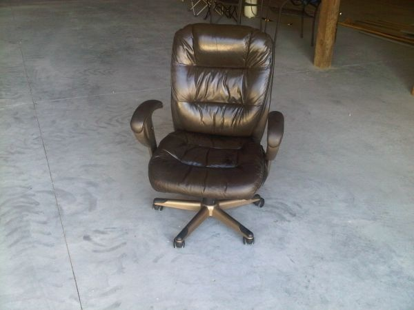 used brown leather office chair craigslist wishlist