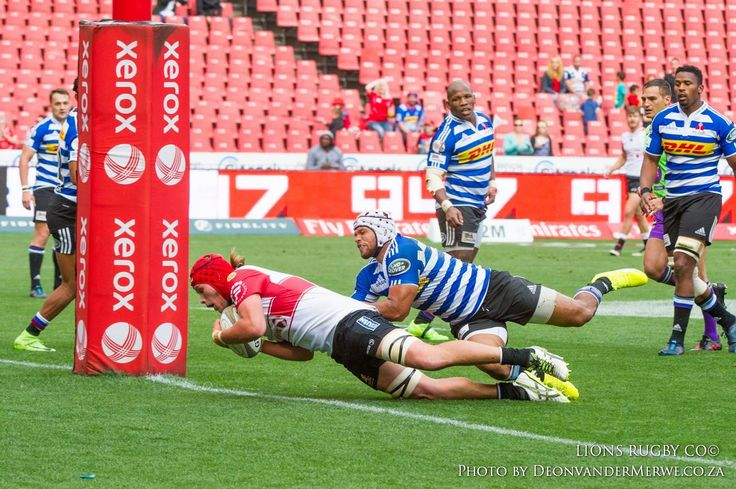 The Xerox Golden Lions beat the DHL Western Province 29-20 on Emirates Airline Park Sunday 08 October 2017. #LeyaTheLion #BeThere #MyLionsMoment