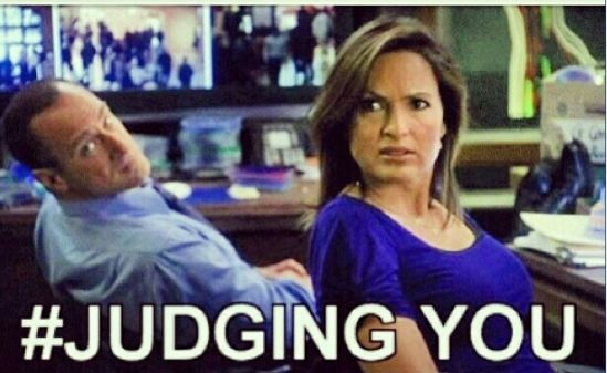 Ha ha! I love it! Elliot Stabler and Olivia Benson from Law and Order: SVU, both rejecting your stupidity!