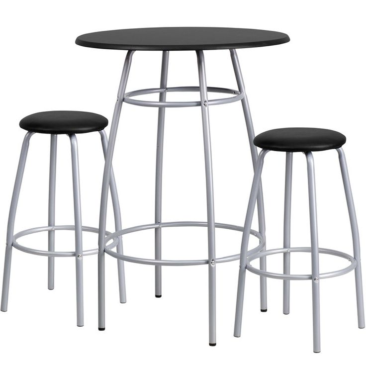 flash furniture bar height table u0026 stool set black white new for like the flash furniture bar height table u0026 stool set black white new