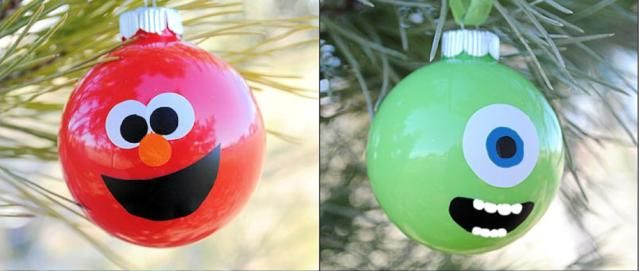 10 Festive DIY Christmas Decorations: Character Ornaments for Kids