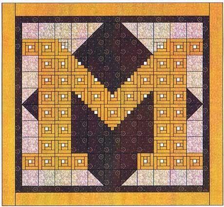 University Of Michigan Quilt Patterns Visit