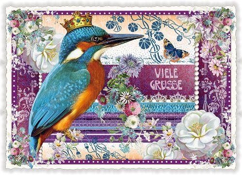 tausendschön postkarten - Viele Grüsse