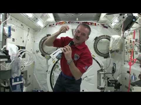To better understand how vision is impacted in the space environment, astronauts use onboard medical instruments like the tonometer to examine the health of eyes. Commander Chris Hadfield gives us an inside look at these instruments and demonstrates how they work. Credit: CSA/NASA   For more about living in space, visit: http://www.asc-csa.gc.ca...