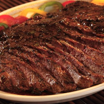 Marinate your flank steak in this savory sauce then grill it to make an exquisite and tasty main entrée.