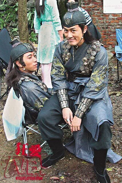 Chinese drama series. TVB stars of Hong Kong #tvb #hkdramaseries #hongkong behind the scene : Ron Ng & Raymond Lam Fung