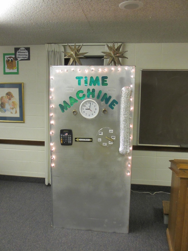 I Made This Time Machine For Church I Got A Refrigerator