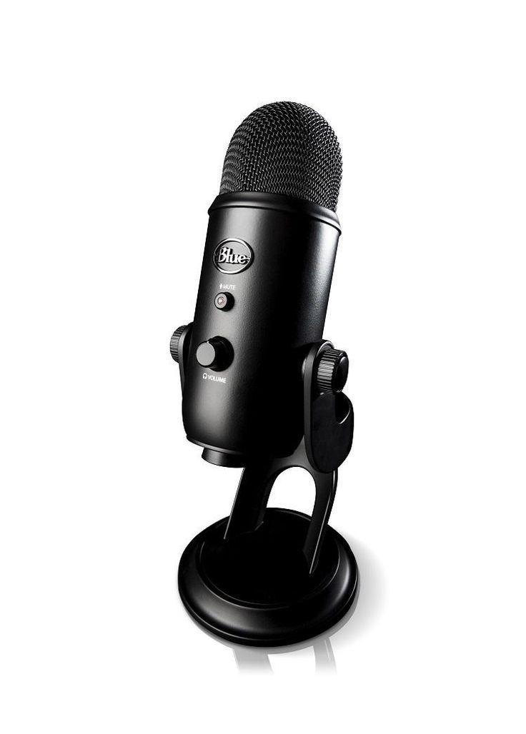 Blue Microphones Yeti USB - Blackout #WRGamers #Blue Microphones