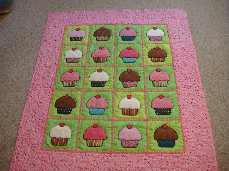 47 best Quilts images on Pinterest | Books, Cherries and Cherry : quilt cupcakes - Adamdwight.com