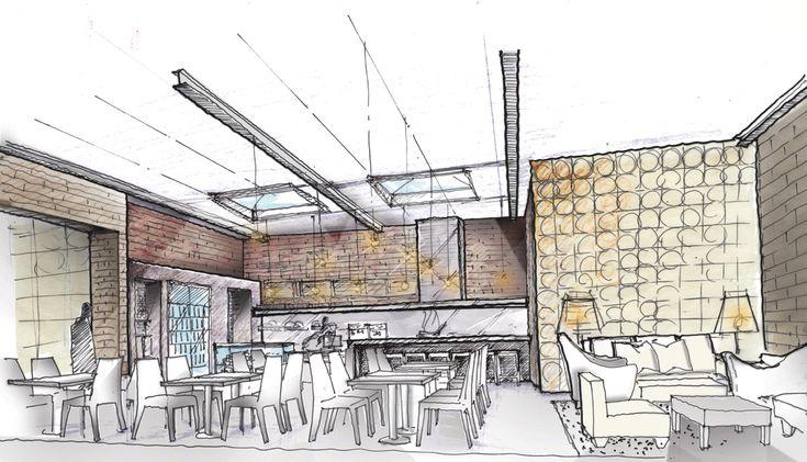 home interior sketch interior design sketches visit www skpbox com