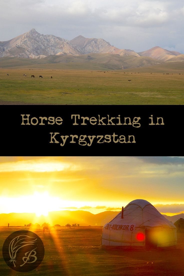 Do you like riding horses and taking in beautiful sights? Then a two day trek from Kochkor to Son Kol Lake in Kyrgyzstan will be right up your alley.