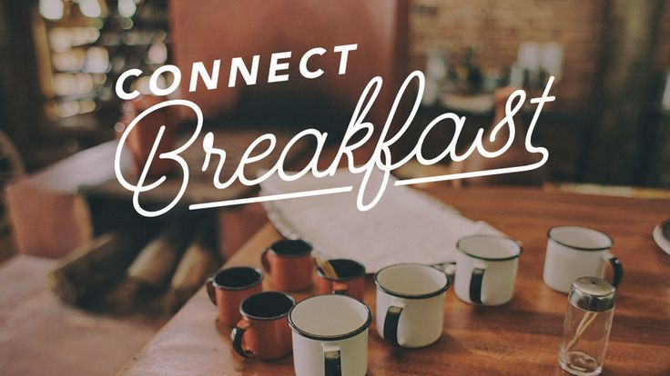 Connect Breakfast is a 1st time attenders breakfast. It allow first time guest at Celebration Church to meet pastors and staff and learn more about the church