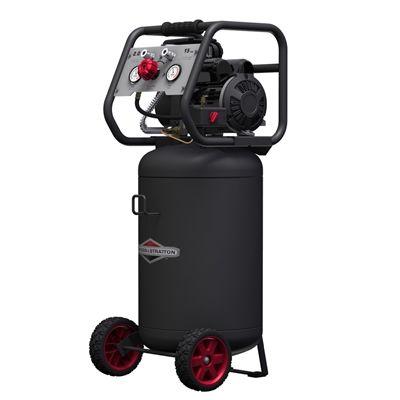 Briggs & Stratton 2-Hp 15-Gallon 200-PSI 120-Volt Vertical Portable Electric Air Compressor