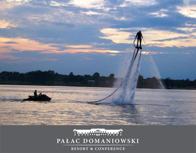 #PalacDomaniowski #ZalewDomaniowski #Marina #FlyBoard