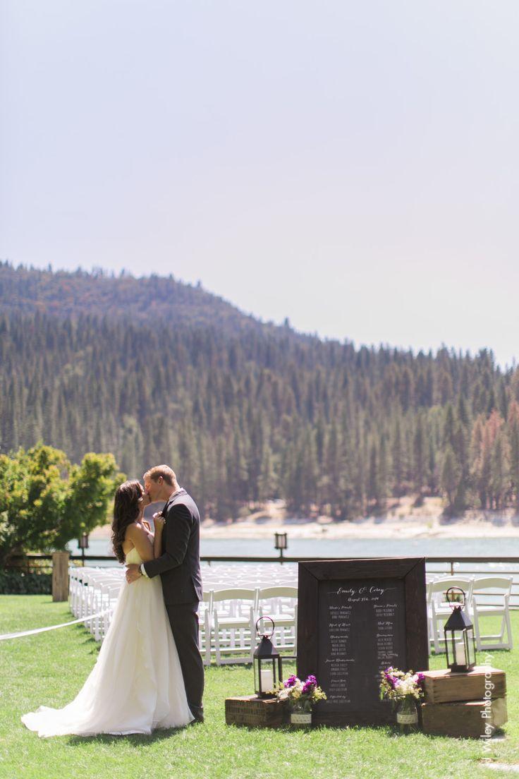 Emily corey the pines resort at bass lake wedding