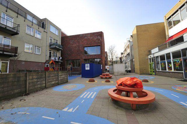 Schoolplein van de RK Maria Basisschool