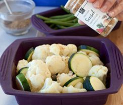 A quick and tasty vegetable combo for easy weeknight sides. Add your favourite veggies for variety and colour