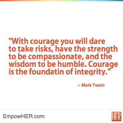 courage motivation inspire personal growth