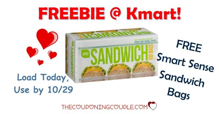 It's the KMART FRIDAY FIX! Get an ecoupon for FREE Smart Sense Sandwich Bags! Get the ecoupon now!  Click the link below to get all of the details ► http://www.thecouponingcouple.com/kmart-friday-fix/ #Coupons #Couponing #CouponCommunity  Visit us at http://www.thecouponingcouple.com for more great posts!
