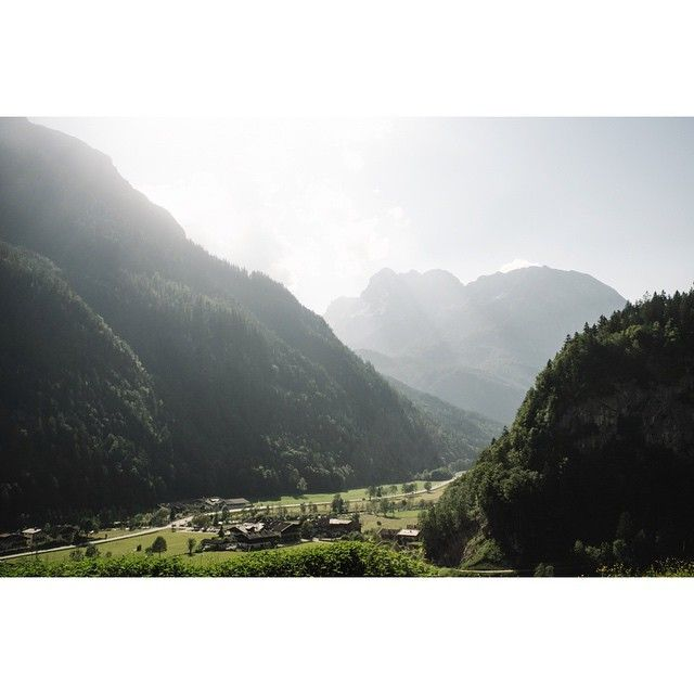 Yesterday was a national holiday in Austria. Awfully packed roads just to get to the pretty stuff. #nature