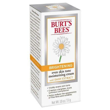 Burt's Bees Brightening Even Skin Tone Moisturizing Cream - 1.8 oz : Target