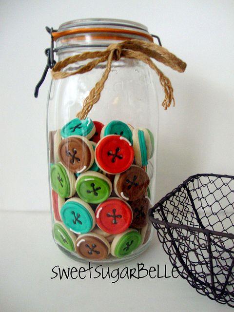 Cookieria By Margaret: Cookies de botões...