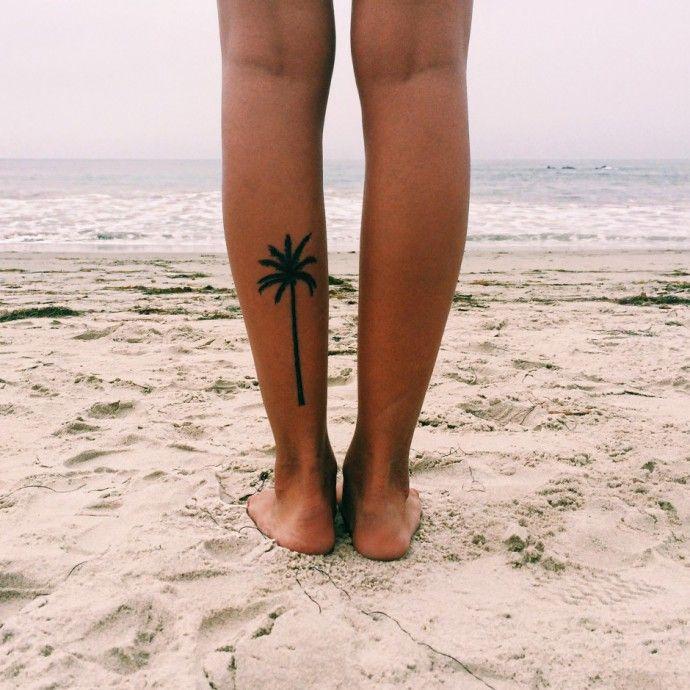 Palm Tree. | Tattoologist | Bloglovin'