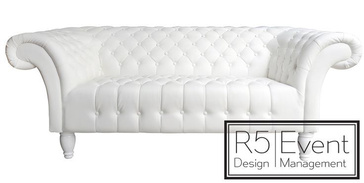 SoHo Love Seat- available for rent from R5 Event Design!