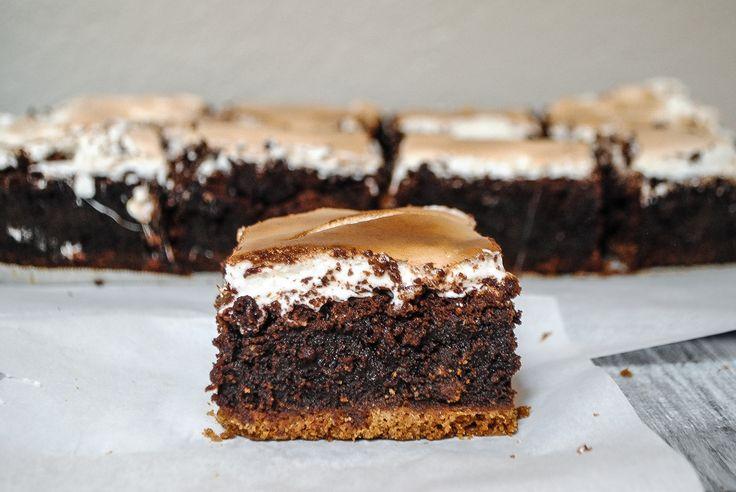 S'mores Brownies | Blessings + Good Food