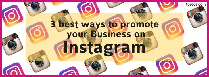 Social Media has gained immense popularity in the field of brand promotion. Almost every online business holder now promotes its business on social media platforms like Facebook, Twitter, Instagram etc. Moreover, these social media giants are also taking steps for providing better marketing facilities to the business holders.  - See more at: https://www.10seos.com/blog/3-best-ways-to-promote-your-business-on-instagram#sthash.L25SB869.dpuf