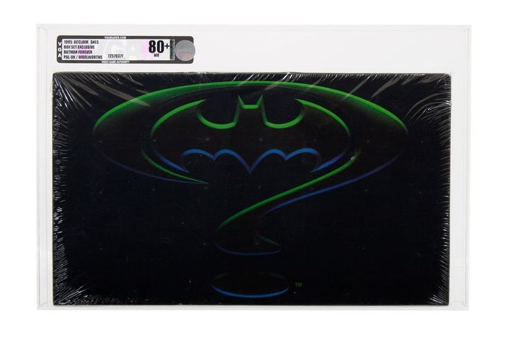 Batman Forever Woolworths Limited Edition SNES (Super Nintendo) PAL sealed VGA Graded 80+ is selling for 10000£ on 25th June 2017